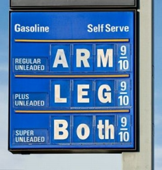 funny gas prices boise meridian garden city eagle Idaho Treasure Valley oil changes