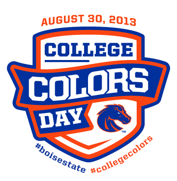 college colors day bsu broncos boise state eagle meridian garden city idaho oil change service