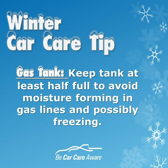 Winter-Car-Care-Tip-Gas-Tank boise oil changes meridian garden city eagle nampa idaho Einstein's Oilery