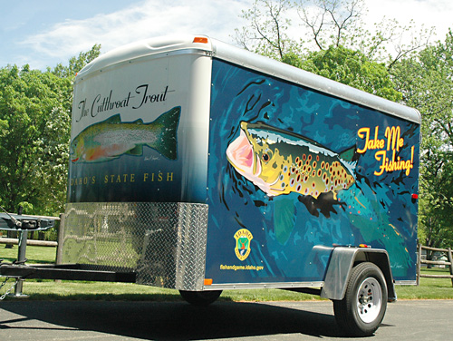 idaho take me fishing trailer treasure valley boise meridian garden city eagle nampa boise oil changes
